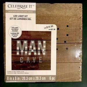 Man Cave LED Light Sign Kit by  Celebrate It